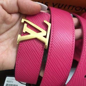 Belt Louis Vuitton Monogram 2 sides